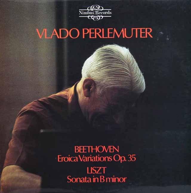 ペルルミュテールのベートーヴェン&リスト/ピアノ作品集 英Nimbus 3296 LP レコード
