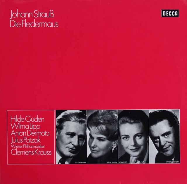 クラウスのJ.シュトラウス/「こうもり」 独DECCA 3296 LP レコード