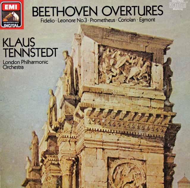 テンシュテットのベートーヴェン/序曲集 独EMI 3298 LP レコード
