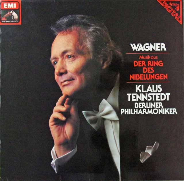 テンシュテットのワーグナー/「ニーベルングの指環」からの音楽 独EMI 3298 LP レコード