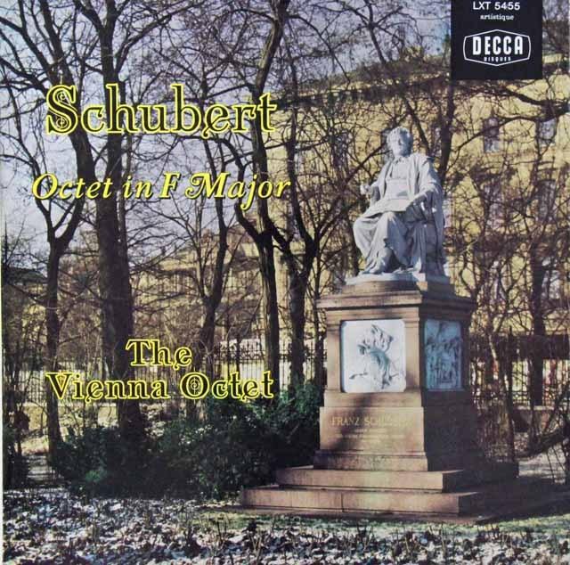 ウィーンオクテットのシューベルト/八重奏曲 仏DECCA 2810 LP レコード