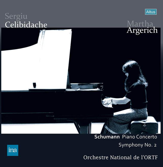 【LPレコード】 アルゲリッチ&チェリビダッケのシューマン/ピアノ協奏曲イ短調ほか 1974年 <完全限定生産> ALTLP113/114 2LP
