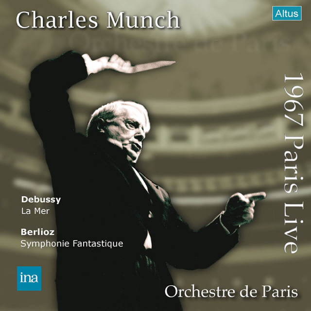 【LPレコード】 ミュンシュ&パリ管のデビュー・コンサート1967年 <完全限定生産盤> ALTLP131/132 2LP