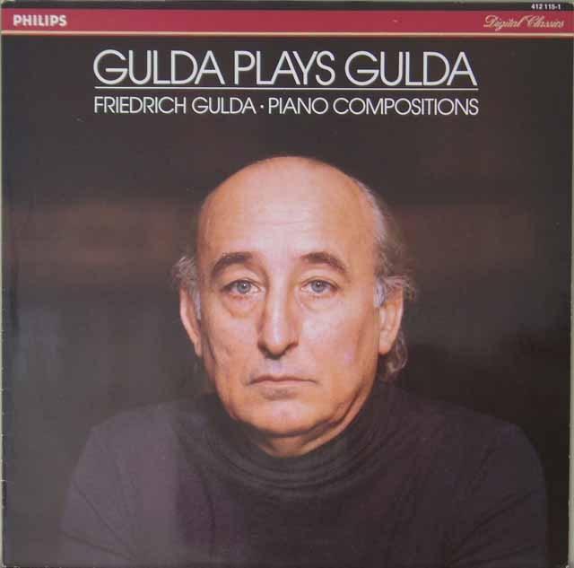 グルダ・プレイズ・グルダ 蘭PHILIPS 3227 LP レコード