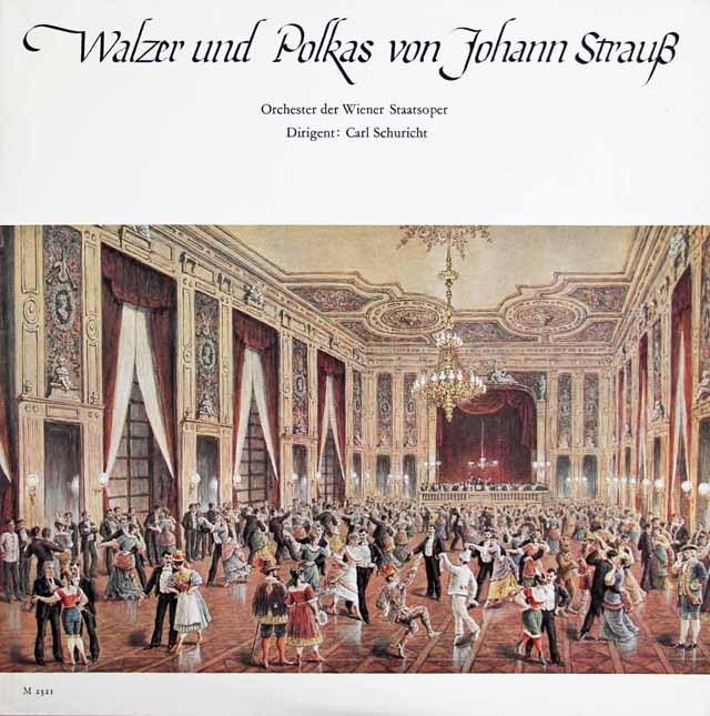 シューリヒトのJ.シュトラウス/ワルツ&ポルカ集 独CH 2926 LP レコード