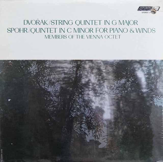 【未開封】ウィーン・オクテットのメンバーによるドヴォルザーク/弦楽四重奏曲ト長調ほか 英LONDON 2998 LP レコード