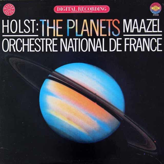 マゼールのホルスト/組曲「惑星」 独CBS 3034 LP レコード