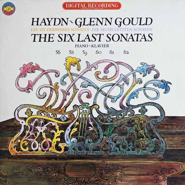 グールドのハイドン/ピアノソナタ集 蘭CBS 3281 LP レコード