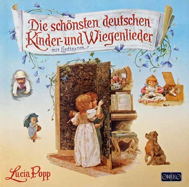 ポップのドイツの子供の歌と子守唄 独ORFEO 3034 LP レコード