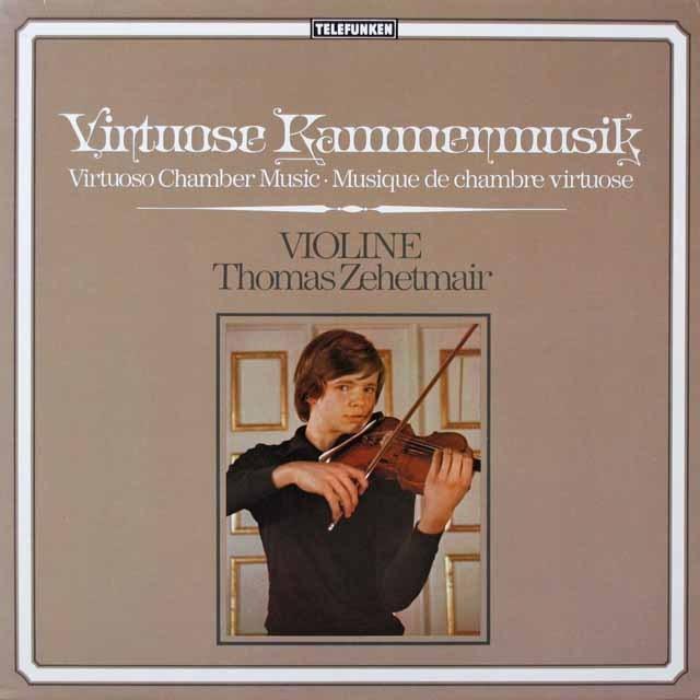 ツェートマイヤーの「ヴィルトーゾ・カンマームジーク」 独TELEFUNKEN 3331 LP レコード