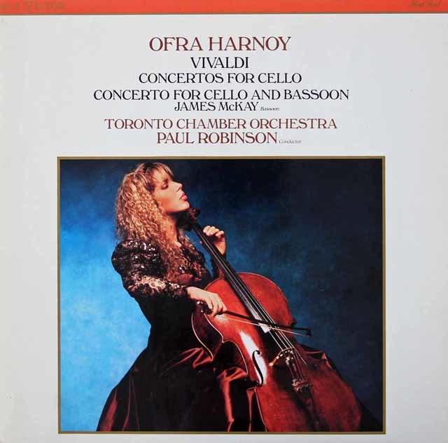 ハーノイのヴィヴァルディ/チェロ協奏曲集 英RCA 3034 LP レコード