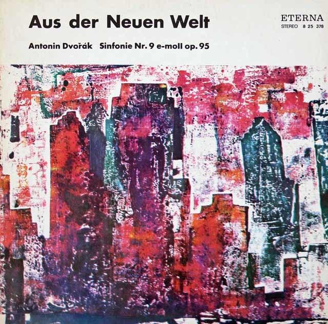 コンヴィチュニーのドヴォルザーク/交響曲第9番「新世界より」 独ETERNA 3034 LP レコード