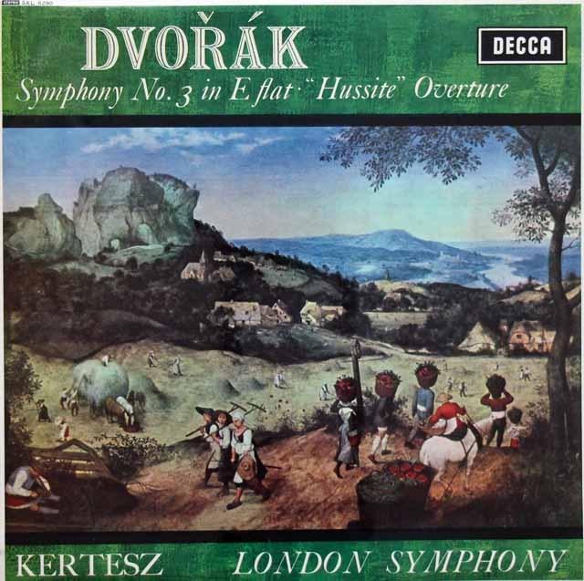 ケルテスのドヴォルザーク/交響曲第3番ほか 英DECCA 3393 LP レコード