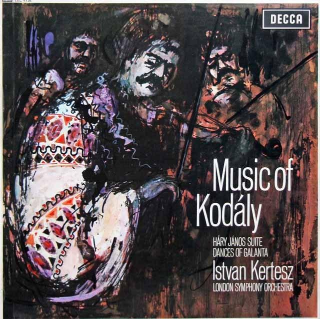 ケルテスのコダーイ/「ハーリ・ヤノーシュ」、ガランタ舞曲集 英DECCA 3005 LP レコード