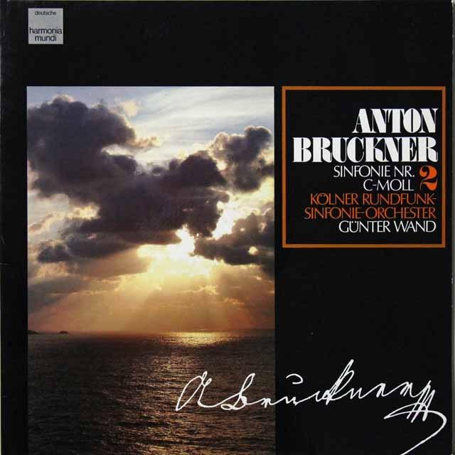 ヴァントのブルックナー/交響曲第2番 独HM  2702 LP レコード