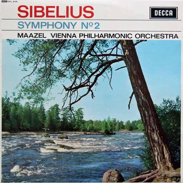 マゼールのシベリウス/交響曲第2番 英DECCA 3005 LP レコード
