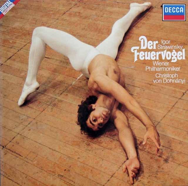 ドホナーニのストラヴィンスキー/「火の鳥」 独DECCA 3398 LP レコード
