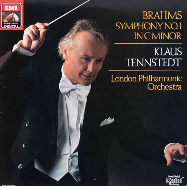 テンシュテットのブラームス/交響曲第1番 独EMI 2930 LP レコード