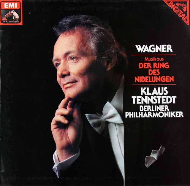テンシュテットのワーグナー/「ニーベルングの指輪」からの音楽 独EMI 3399 LP レコード