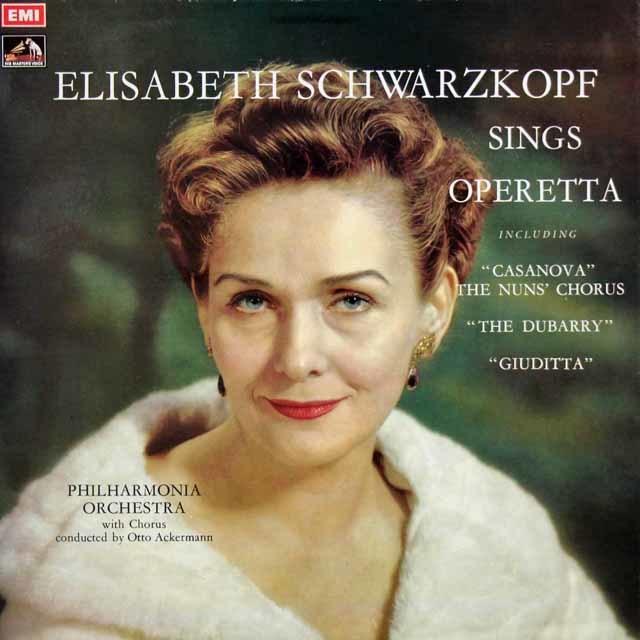シュヴァルツコップのオペレッタ集 英EMI 3031 LP レコード