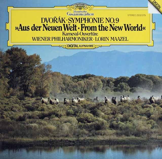 マゼールのドヴォルザーク/交響曲第9番「新世界より」 独DGG 3281 LP レコード