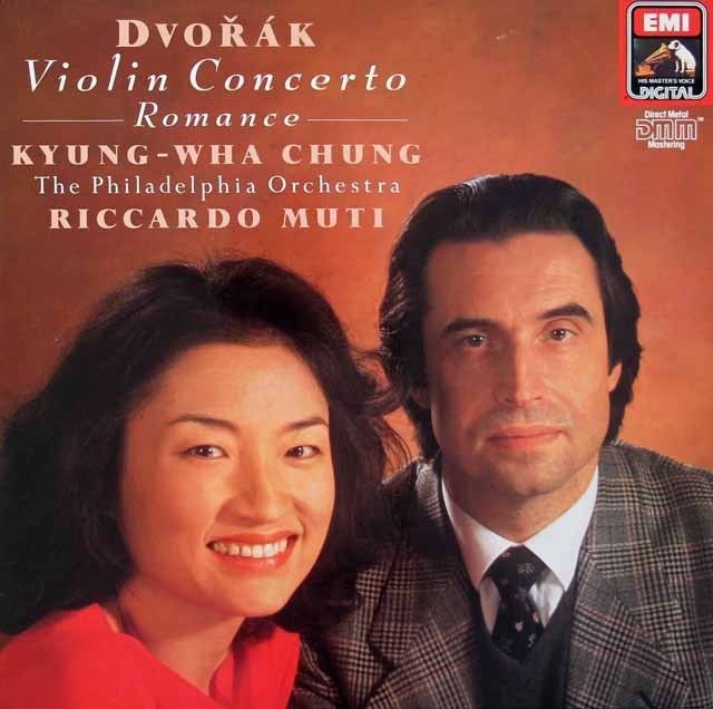 チョン&ムーティのドヴォルザーク/ヴァイオリン協奏曲 独EMI 2930 LP レコード