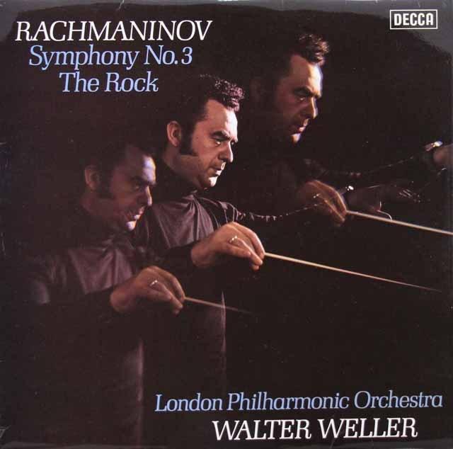 【オリジナル盤】 ウェラーのラフマニノフ/交響曲第3番ほか 英DECCA 3005 LP レコード