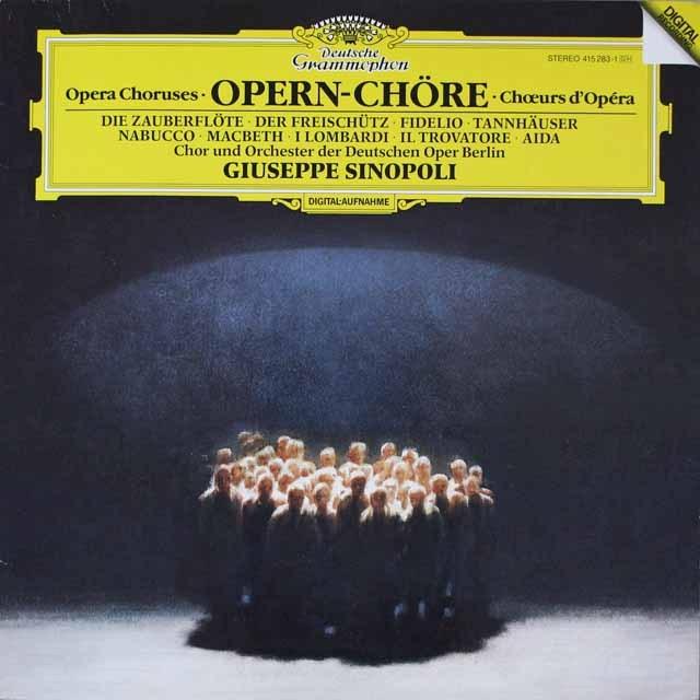シノーポリ/オペラ合唱曲集  独DGG  2631 LP レコード