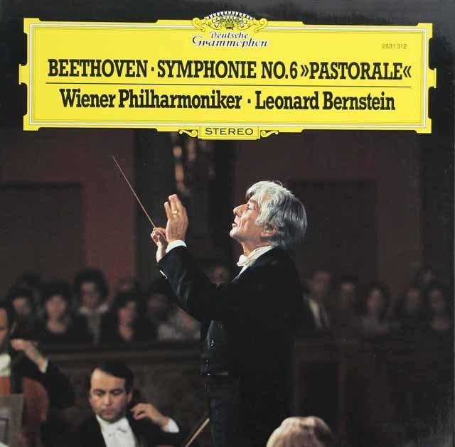 バーンスタインのベートーヴェン/交響曲第6番「田園」 独DGG 2932 LP レコード