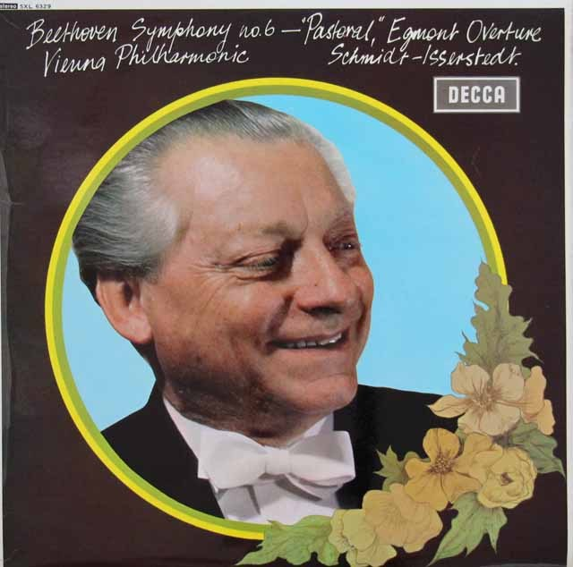 【オリジナル盤】イッセルシュテットのベートーヴェン/交響曲第6番「田園」ほか 英DECCA 3005 LP レコード