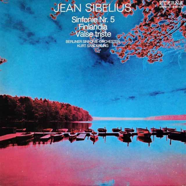 ザンデルリンクのシベリウス/交響曲第5番ほか 独ETERNA 2930 LP レコード