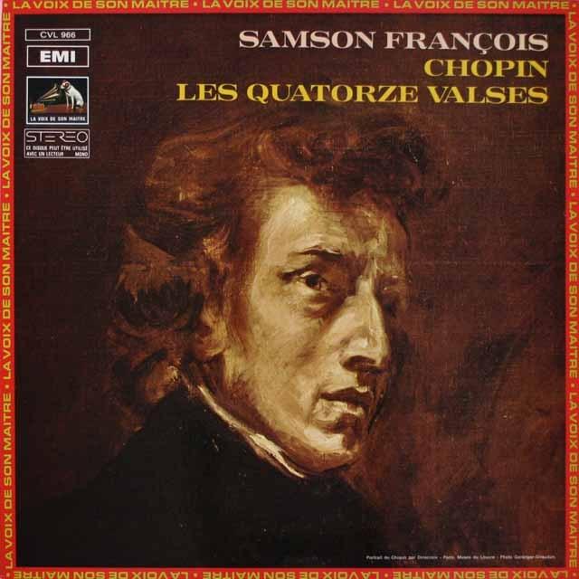 フランソワのショパン/ワルツ集   仏EMI(VSM) 2633 LP レコード