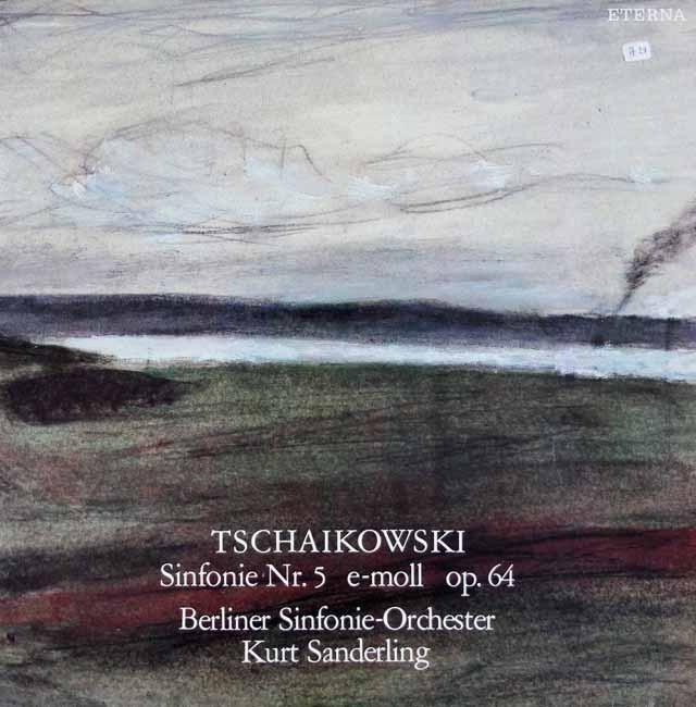 ザンデルリンクのチャイコフスキー/交響曲第5番 独ETERNA 2930 LP レコード