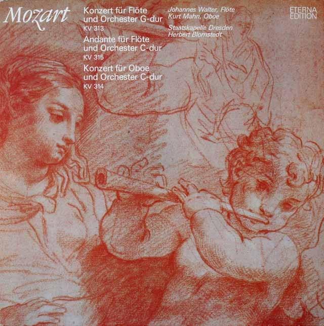 ワルター&ブロムシュテットのモーツァルト/フルート協奏曲第1番ほか 独ETERNA