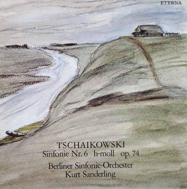 ザンデルリンクのチャイコフスキー/交響曲第6番「悲愴」 独ETERNA 2930 LP レコード
