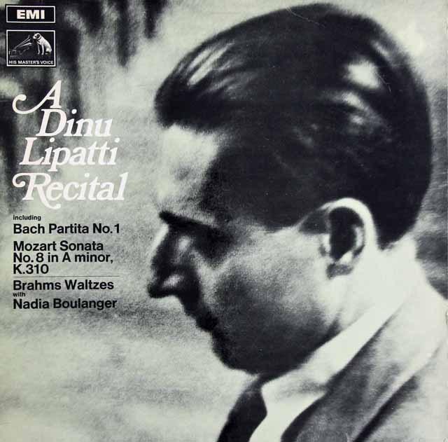 リパッティ/リサイタル 英EMI 2932 LP レコード