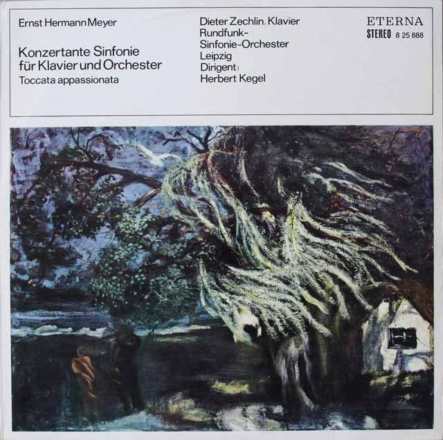 ケーゲルのマイヤー/交響的協奏曲 独ETERNA 3227 LP レコード