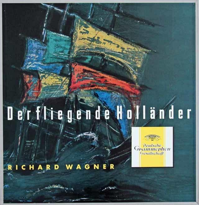 【オリジナル盤】 フリッチャイのワーグナー/「さまよえるオランダ人」 独DGG 3031 LP レコード