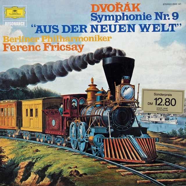 フリッチャイのドヴォルザーク/交響曲第9番「新世界より」 独DGG 3034 LP レコード