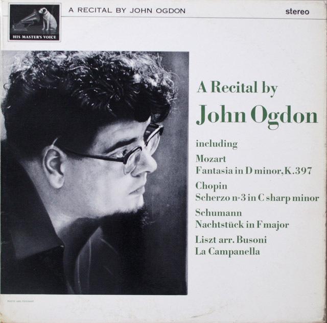 【オリジナル盤】 オグドンのリサイタル 英EMI 3332 LP レコード