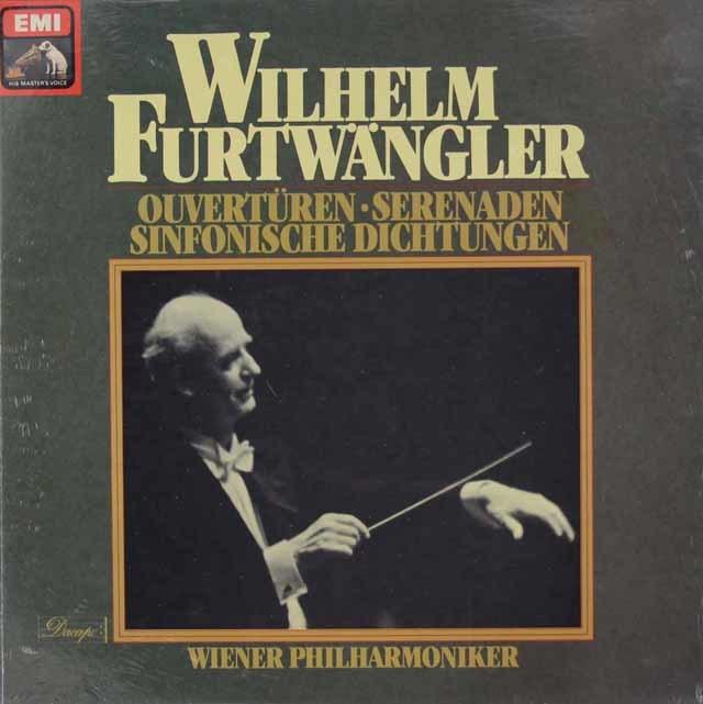 【未開封】 フルトヴェングラーの管弦楽曲集 独Dacapo(EMI) 3034 LP レコード
