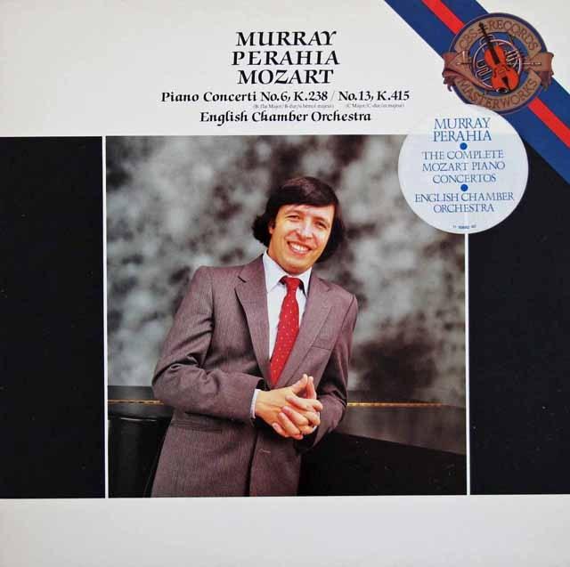 ペライアのモーツァルト/ピアノ協奏曲第6&13番 蘭CBS  2930 LP レコード