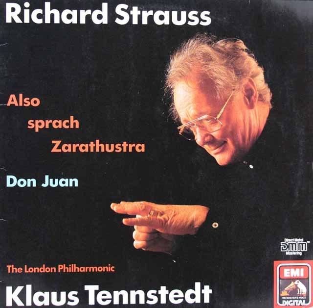 テンシュテットのR.シュトラウス/ツァラトゥストラはかく語りき&ドン・ファン 独EMI 3398 LP レコード