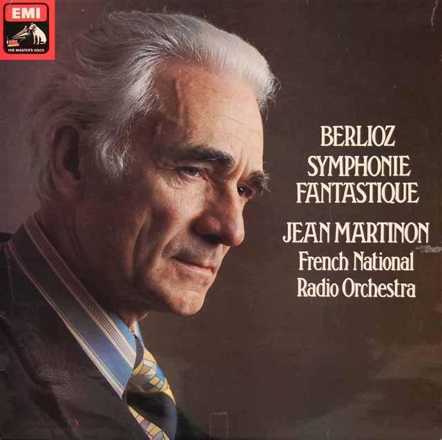 【オリジナル盤】マルティノンのベルリオーズ/幻想交響曲 英EMI 2832 LP レコード