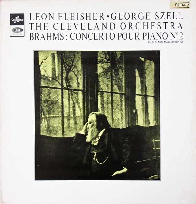 フライシャー&セルのブラームス/ピアノ協奏曲第2番 仏Columbia 3019 LP レコード