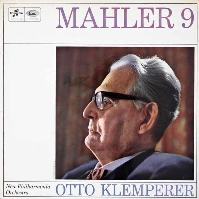 【オリジナル盤】 クレンペラーのマーラー/交響曲第9番 英Columbia 3019 LP レコード