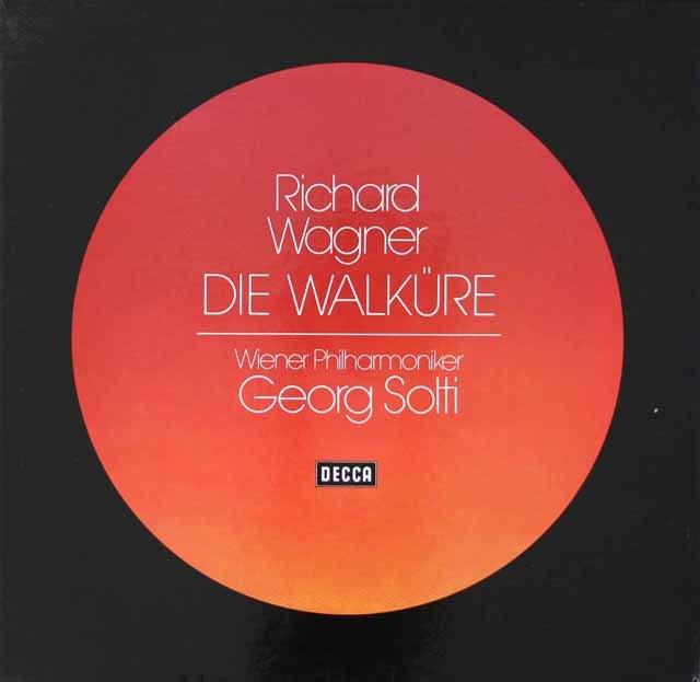 ショルティのワーグナー/「ワルキューレ」全曲 独DECCA 3019 LP レコード