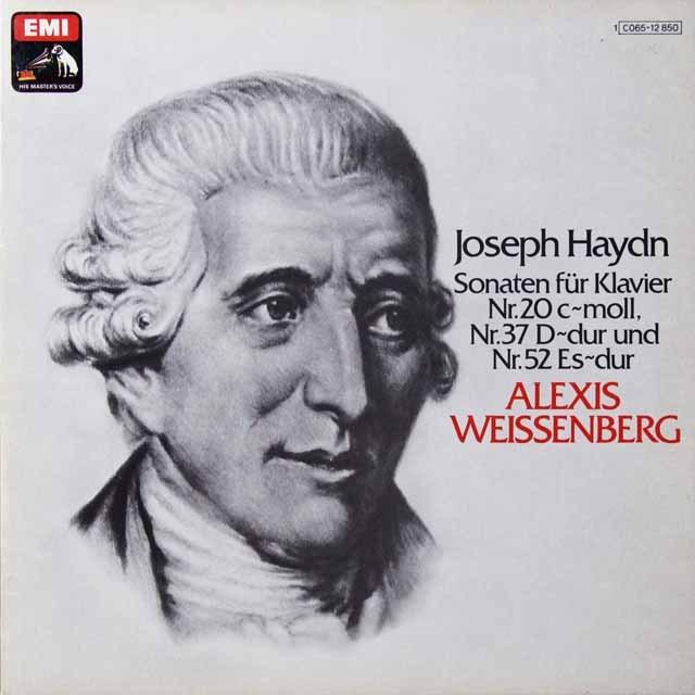 ワイセンベルクのハイドン/ピアノソナタ集 独EMI   2704 LP レコード