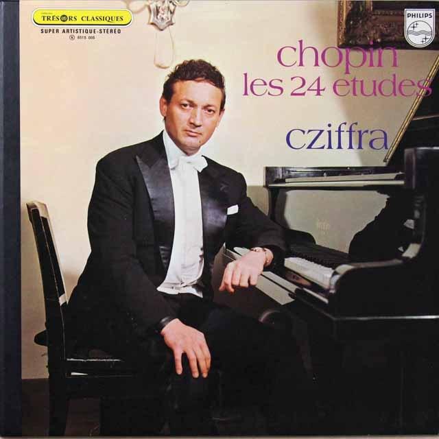 シフラのショパン/練習曲(作品10&25) 蘭PHILIPS  2704 LP レコード
