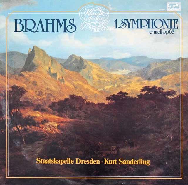 ザンデルリンクのブラームス/交響曲第1番 独eurodisc 3036 LP レコード